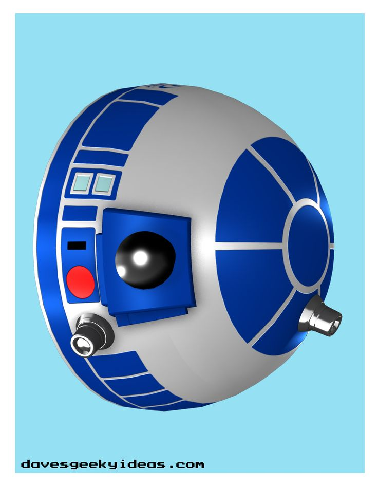 template for r2d2 helmet homemade - Yahoo Search Results