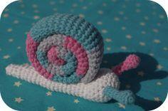 Atelier d'agarwen: Tuto: Escargot Amigurumi
