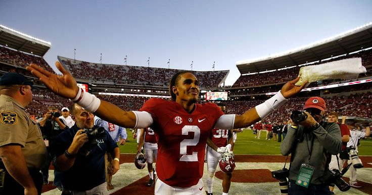 TUSCALOOSA, Ala. -- Alabama freshman quarterback Jalen Hurts was named one of 18 semifinalist for the Davey O'Brien Award on Thursday. The award is given a