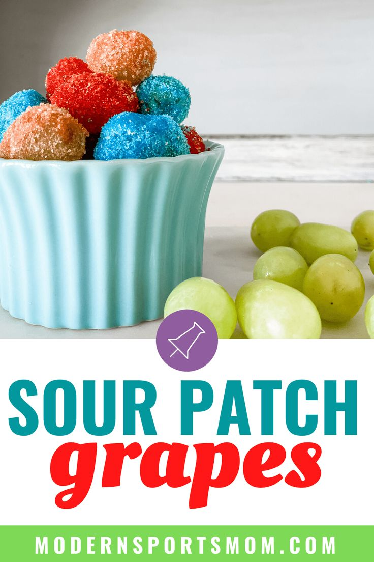 Candy Grapes Recipe Sour patch grapes, Candied grapes