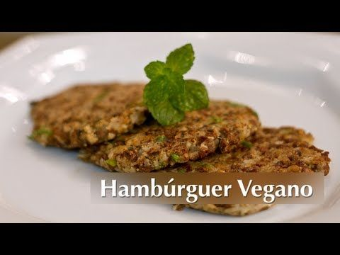 Hambúrguer Vegano de PTS - Presunto Vegetariano