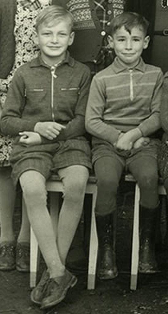 Haslach School, Germany, 1954