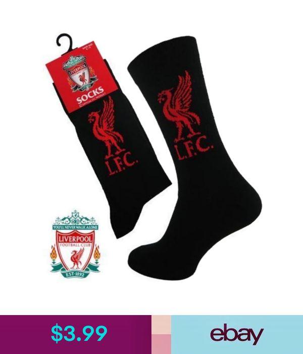 2 Mens Liverpool Football Club Badge Crest Soccer Team Socks UK 6-11