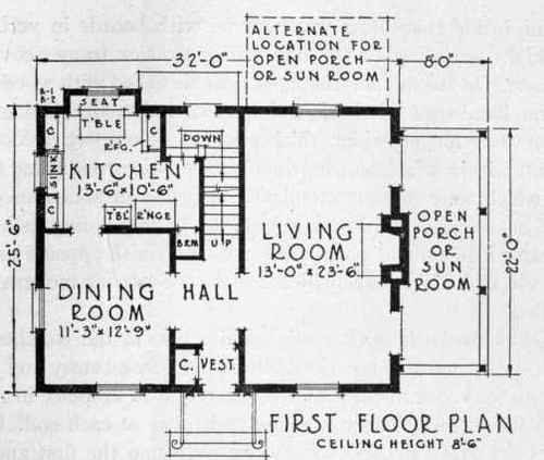 Old Colonial Floor Plans | What Makes Colonial - Colonial?