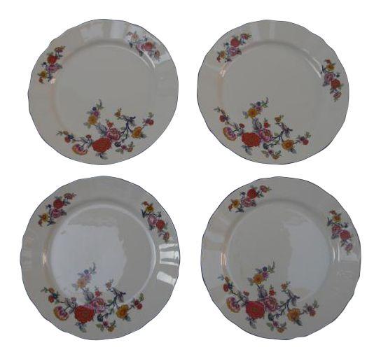 Winterling Bavaria Fine China Dessert Plates - Set of 4 on Chairish.com