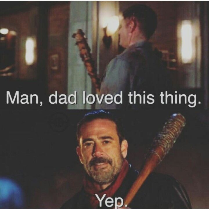 I loved that they did this shout out to Jeffrey Dean Morgan (John Winchester / Neegan). It says so much about J2 that they're such good friends with their guest stars and co-stars. #SPN #SPNfamily