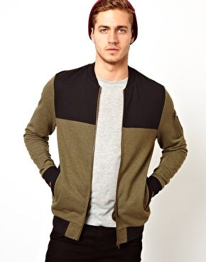 ASOS MA1 Bomber With Contrast Yoke $54.36