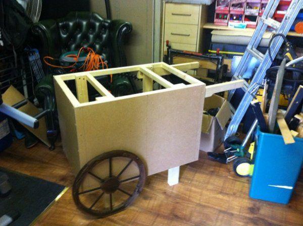 Candy Cart DIY photo 2