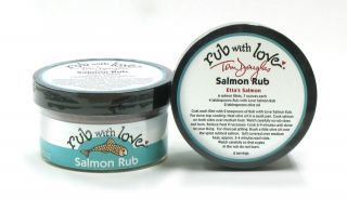 Salmon Rub With Love by Tom Douglas - This is great, but hard to find on the East coast.
