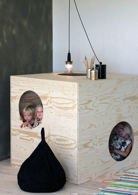 Maisonnette en bois - Pour enfant