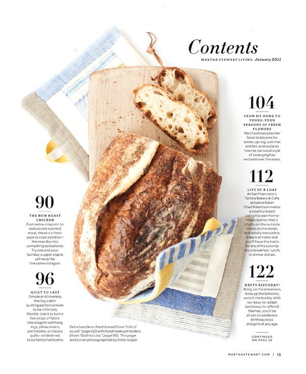 9 best Magazine Contents page examples images on Pinterest ...Food Magazine Table Of Contents
