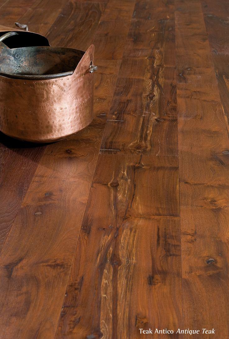 Antique Teak.  Pavimento legno di teak antico di recupero.