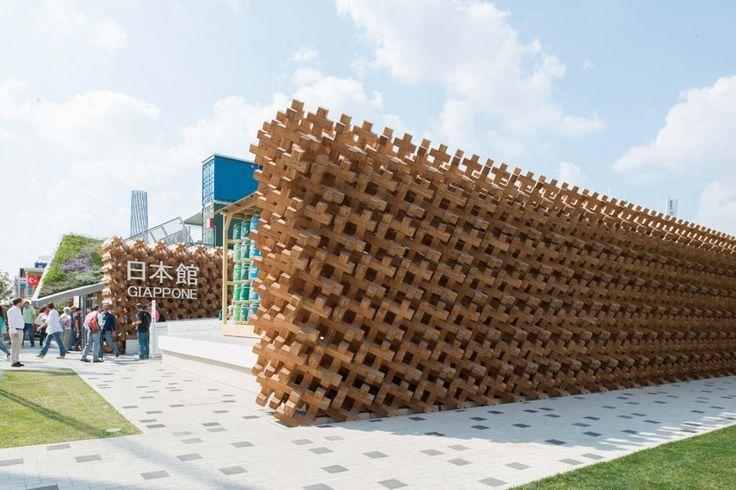 Japan Pavilion at Expo Milano 2015, architecture by Atsushi Kitagawara  #ExpoMilano #Intralighting