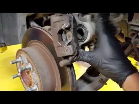 7 best brake pads images on pinterest brakes pads brake pads and chrysler 200 replacing rear brake pads non electronic parking brake youtube fandeluxe Images