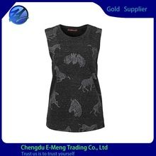 Wholesale Full Design Print O-neck Sleeveless Women Top   Best Seller follow this link http://shopingayo.space