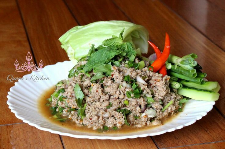 Laab Moo-Thai Pork Salay