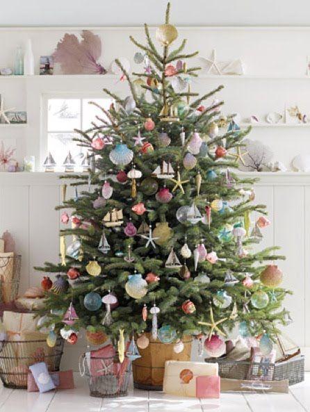 Beach holiday Christmas Tree