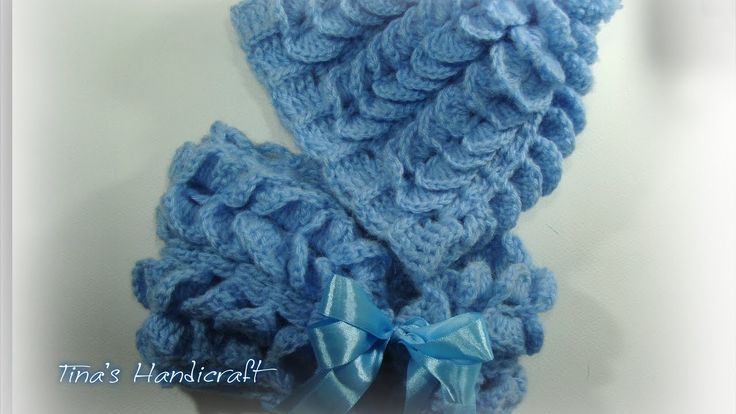 how to make a crochet hat & scarf ( butterfly stitch)