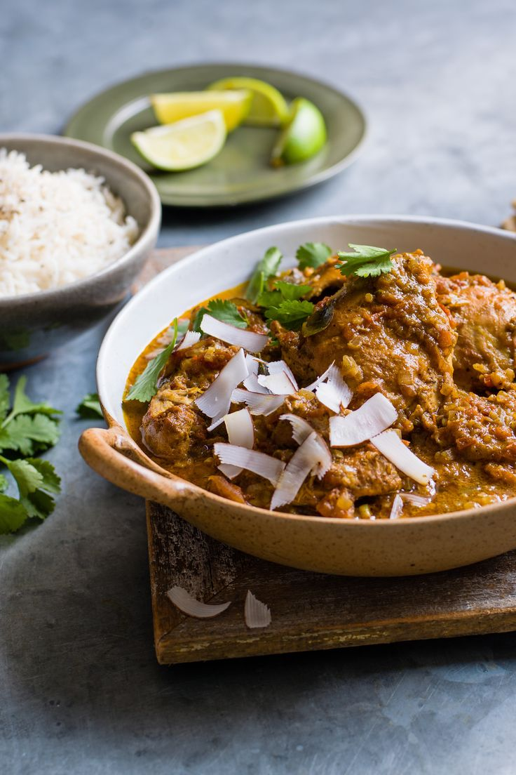 Dive into this divine south Indian curry, packed with cardamom pods, curry leaves, ginger and coconut. The chicken thighs take on all the vibrant flavours and are beautifully tender, thanks to the slow-cooking. | Tesco