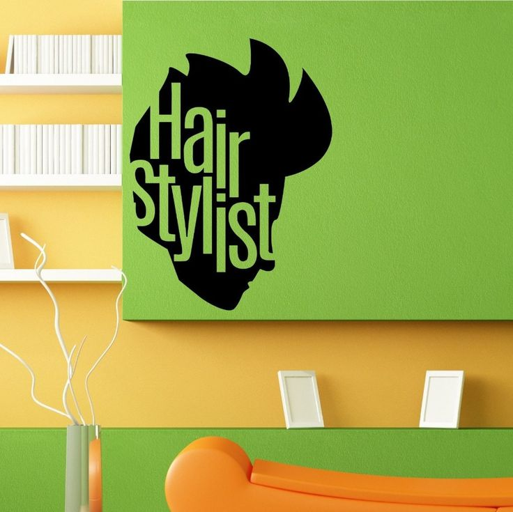 135 best images about theme barber shop on pinterest - Stickers salon design ...