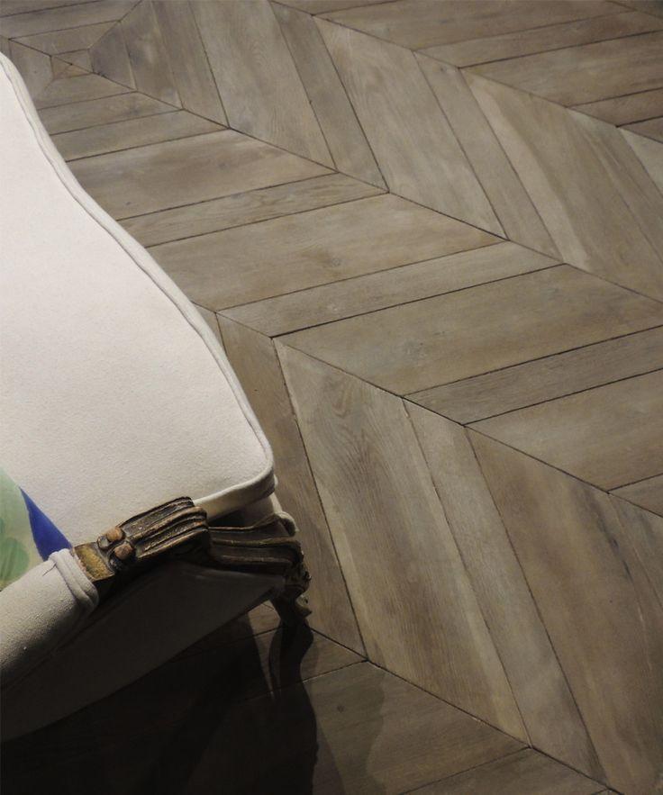Hungarian Point Parquet Flooring By Tabarka Studio