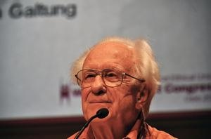 How do you define peace by Johan Galtung