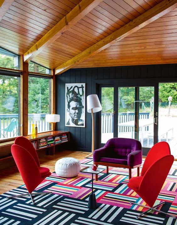 13 Chic & Modern Ways to Decorate with Color | @stylecaster