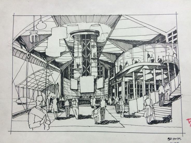 Arkitektur arkitektur sketch : Över 1 000 bilder om Ia.sketch på PinterestSkissa, Skissblock och ...