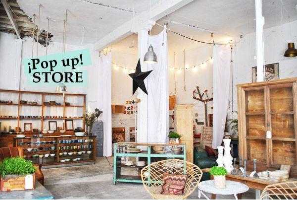 Vintage Pop Up store