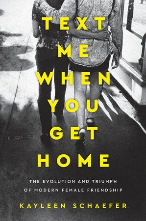 "A personal and sociological examination--and ultimately a celebration--of the evolution of female friendship in pop culture and modern society  ""Text me when you get home."" After joyful nights out together,..."