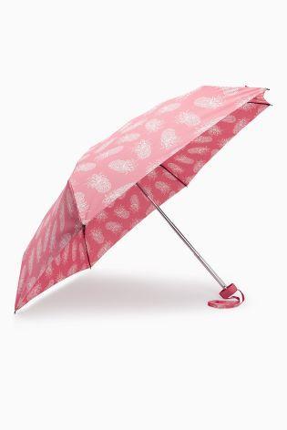 Pink Pineapple Umbrella