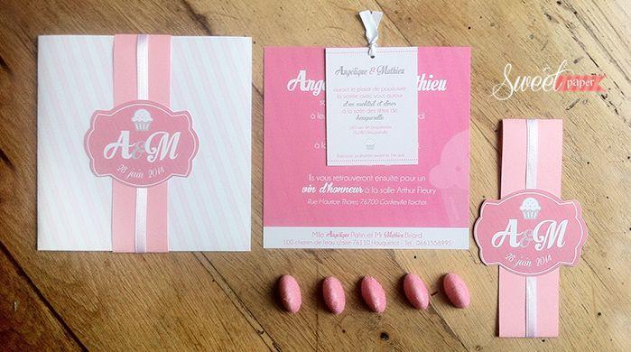 fairepart mariage gourmandise bonbon candy bar pochette rose tagada gourmandise pinterest bonbon invitations et google - Texte Faire Part Mariage Gourmandise