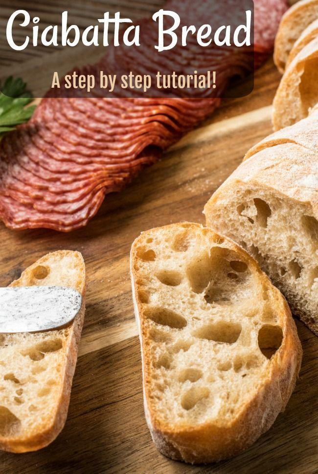 Ciabatta Bread The Hole Story Recipe Italian Bread Recipes Rustic Italian Bread Bread