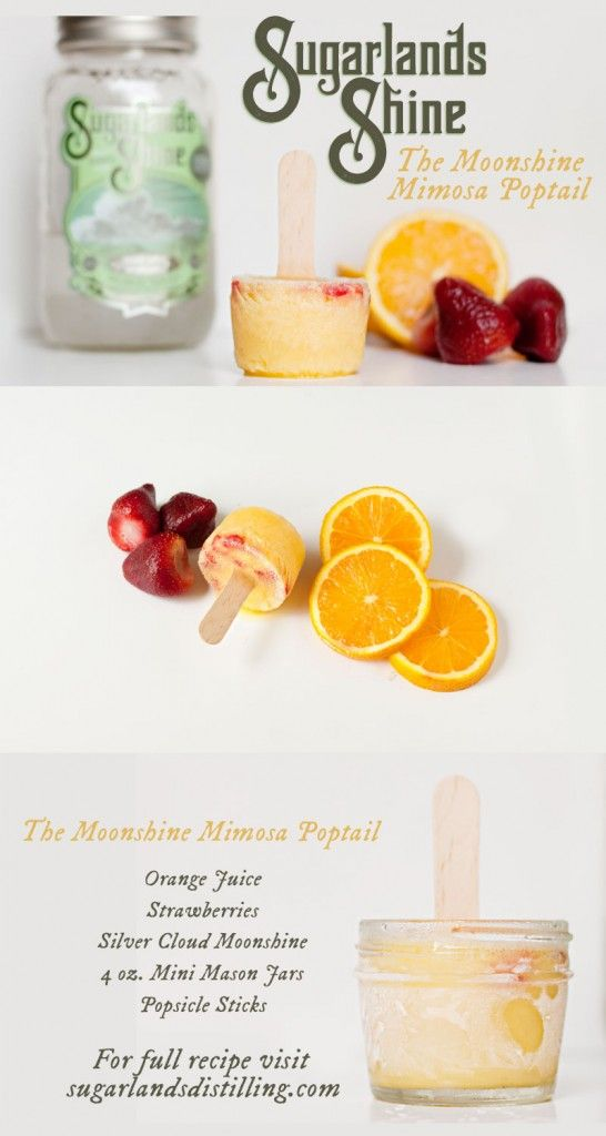 22 best moonshine recipes images on pinterest moonshine recipe moonshine mimosa poptail cocktail popsicle sugarlands shine from sugarlands distilling company in gatlinburg tennessee forumfinder Image collections