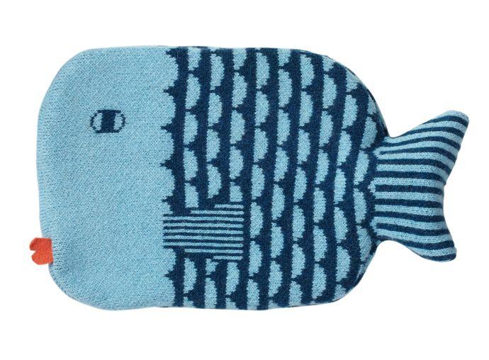 donna wilson fish hot water bottle