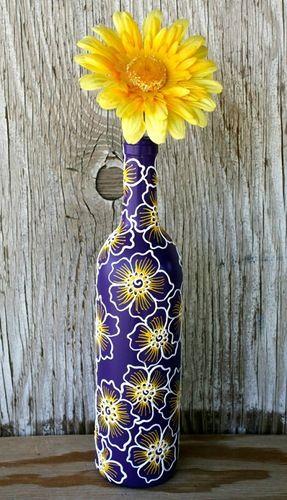 Декоративные бутылки и вазы