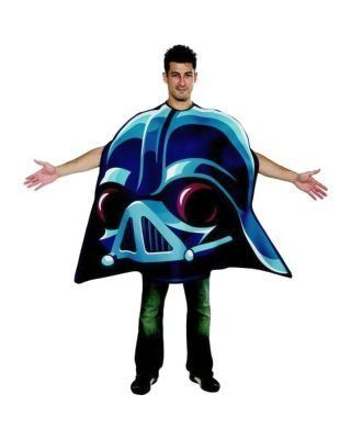 Angry Birds Star Wars Darth Vader Adult Costume Blue One Size >>> Click image for more details.