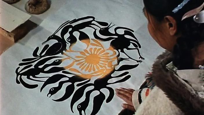 Eskimo Artist: Kenojuak. This documentary shows how an Inuit artist's drawings are transferred to stone, printed and sold. Kenojuak Ashevak became the first woman involved with the printmaking co-operative in Cape ...