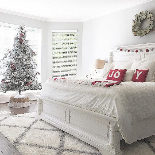 Best 25+ Christmas Bedroom Decorations Ideas On Pinterest