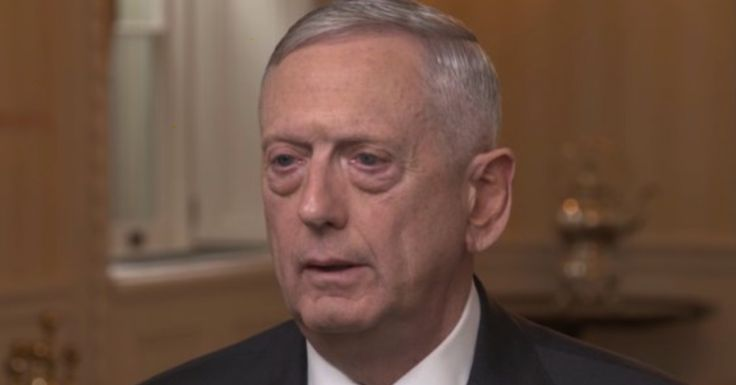 """Secretary of Defense James Mattis talked about the fight against ISIS on Sunday morning, when he was a guest onCBS' morning talk show """"Face The Nation."""" At one point, thehost John Dickerson asked Mattis: """"What keeps you awake at night?"""" He answered with a stone cold face: """"Nothing. I keep other people awake at night."""" …"""