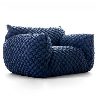 Is this a chair or a blanket or a pillow? All three. Paola Navone Nuvola Collection.