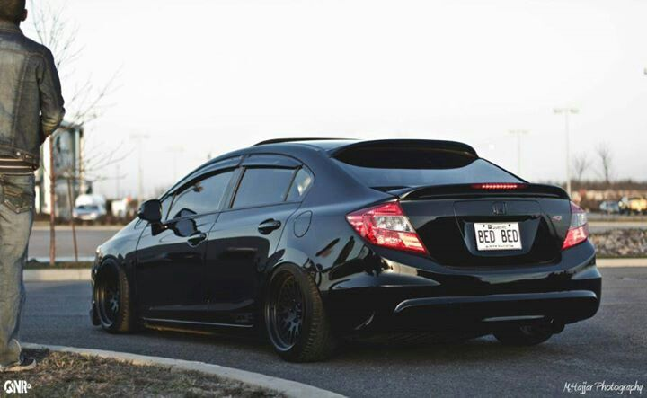 All Black 9th Gen Dream Cars Pinterest And