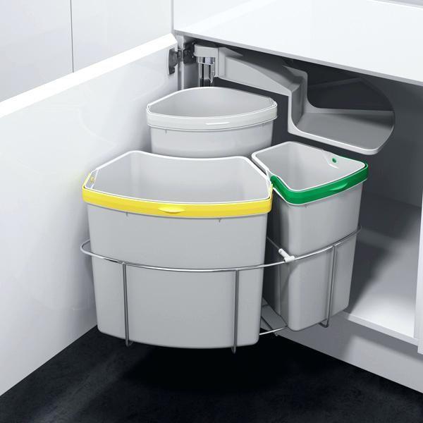 les 25 meilleures id es de la cat gorie poubelle encastrable sur pinterest poubelle cuisine. Black Bedroom Furniture Sets. Home Design Ideas