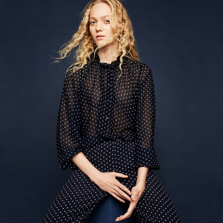 FWSS Pantomine white dots blouse - FWSS - Fall Winter Spring Summer - shop online