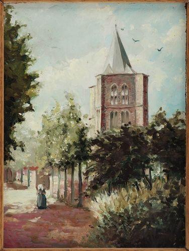 Oude toren van Woensel - van Leten