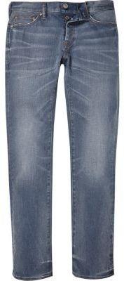 River Island Mens Mid blue wash Dylan slim fit jeans