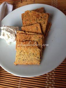 Gf crackers recipe, paleo, ketogenic option