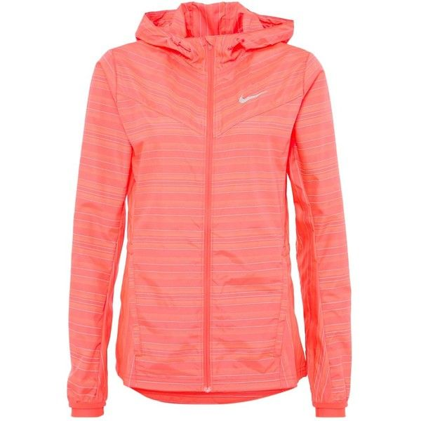 Nike Performance VAPOR Sports jacket ($130) ❤ liked on Polyvore featuring activewear, activewear jackets, pink, nike activewear, sports activewear, nike sportswear and nike