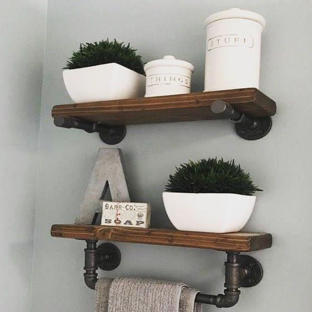 White Floating Shelves Set Of 2