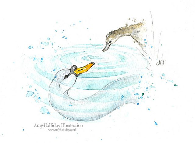 The Ugly Duckling - Reflection by Amy Holliday